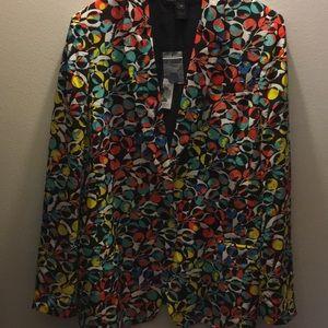 100% silk jacket